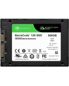 "Seagate BarraCuda 120 500GB SATA III 6Gb/s 3D TLC NAND 2.5"" 7mm Solid State Drive - ZA500CM10003"