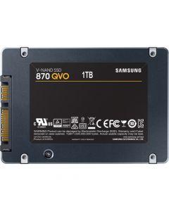 """Samsung 870 QVO  1TB SATA 6Gb/s 4bit QLC V-NAND 1GB LPDDR4 Cache 2.5"""" 6.8mm Solid State Drive - MZ-77Q1T0B/AM (TCG Opal 2)"""