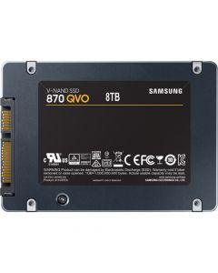 """Samsung 870 QVO  8TB SATA 6Gb/s 4bit QLC V-NAND 8GB LPDDR4 Cache 2.5"""" 6.8mm Solid State Drive - MZ-77Q8T0B/AM (TCG Opal 2)"""