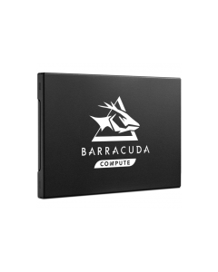 "Seagate BarraCuda Q1 480GB SATA III 6Gb/s 3D QLC NAND 2.5"" 7mm Solid State Drive - ZA480CV1A001 - Right"
