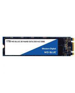 Western Digital Blue 1TB SATA III 6Gb/s 3D TLC NAND M.2 NGFF (2280) Solid State Drive - WDS100T2B0B