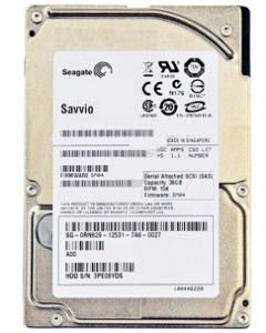 "Seagate Savvio 15K.2 146GB 15K RPM SAS 3Gb/s 16MB Cache 2.5"" 15mm Enterprise Class Hard Drive - ST9146652SS (SED FIPS 140-2 Opal)"