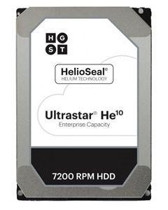 "Hitachi Ultrastar HE10 8TB 7200RPM SAS 12Gb/s 256MB Cache 3.5"" Enterprise Class Hard Drive - HUH721008AL5205 (512e/TCG FIPS 140-2)"