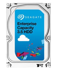"Seagate Enterprise Capacity 3.5 HDD 6TB 7200RPM SAS 12Gb/s 128MB Cache 3.5"" Enterprise Class Hard Drive - ST6000NM0014 (4Kn)"