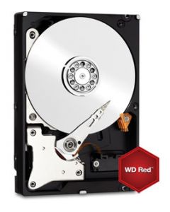 "Western Digital Red NAS 1TB 5400RPM SATA 6Gb/s 64MB Cache 3.5"" Enterprise Class Hard Drive - WD10EFRX"
