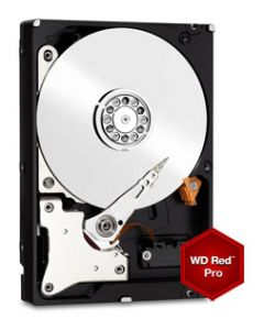 "Western Digital Red Pro 4TB 7200RPM SATA 6Gb/s 64MB Cache 3.5"" Enterprise Class Hard Drive - WD4001FFSX"