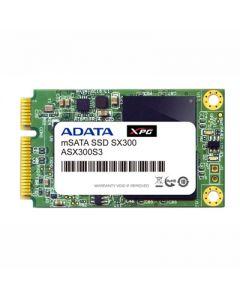 ADATA XPG SX300 64GB SATA 6Gb/s MLC NAND mSATA Solid State Drive - ASX300S3-64GM-C