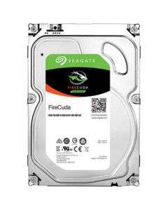 "Seagate FireCuda 2TB 7200RPM 8GB MLC NAND Flash SATA III 6Gb/s 64MB Cache 3.5"" Solid State Hybrid Drive - ST2000DX002"