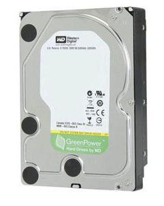 """Western Digital Green 1TB IntelliPower SATA III 6Gb/s 64MB Cache 3.5"""" Desktop Hard Drive - WD10EZRX"""