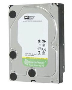 "Western Digital AV-GP 500GB IntelliPower SATA II 3Gb/s 8MB Cache 3.5"" Desktop Hard Drive - WD5000AVVS"