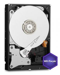 "Western Digital Purple 4TB 5400RPM SATA III 6Gb/s 64MB Cache 3.5"" Desktop Hard Drive - WD40PURX"