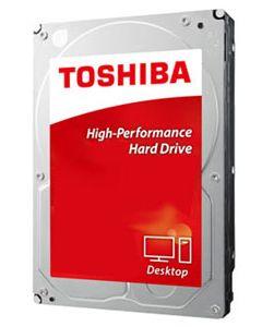 "Toshiba P300 500GB 7200RPM SATA III 6Gb/s 64MB Cache 3.5"" Desktop Hard Drive - HDWD105XZSTA"