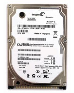 "Seagate Momentus 5400.3 160GB 5400RPM Ultra ATA-100Mb/s 8MB Cache 2.5"" 9.5mm Laptop Hard Drive - ST9160821A"