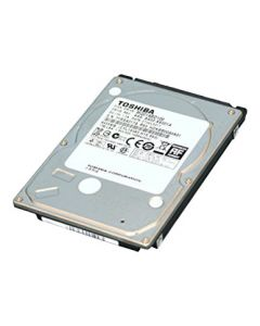 "Toshiba 640GB 7200RPM SATA 3Gb/s 16MB Cache 2.5"" 9.5mm Laptop Hard Drive - MK6461GSYG (SED AES-256 Wipe)"