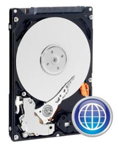 "W.D. Scorpio Blue 640GB 5400RPM SATA 3Gb/s 8MB Cache 2.5"" 9.5mm Laptop Hard Drive - WD6400BPVT"