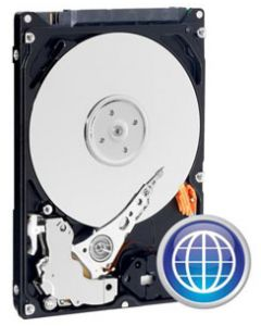 "Western Digital Blue Ultraslim  500GB 5400RPM SFF-8784 SATA III 6Gb/s 16MB Cache 2.5"" 5mm Laptop Hard Drive - WD5000MPCK"