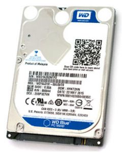 "W.D. Blue SSHD 1TB 5400RPM 8GB NAND Flash SATA 6Gb/s 64MB Cache 2.5"" 9.5mm Solid State Hybrid Drive - WD10J31X"