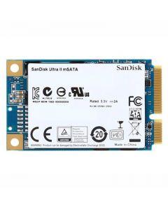 SanDisk Ultra II 512GB SATA 6Gb/s TLC NAND mSATA Solid State Drive - SDMSATA-512G-G25