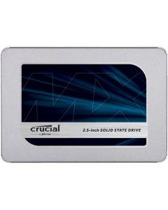 """Crucial MX500 500GB SATA III 6Gb/s 3D TLC NAND 2.5"""" 7mm Solid State Drive - CT500MX500SSD1 (TCG Opal 2)"""