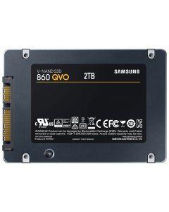 """Samsung 860 QVO 2TB SATA 6Gb/s 4bit QLC V-NAND 2GB LPDDR4 Cache 2.5"""" 6.8mm Solid State Drive - MZ-76Q2T0B/AM (TCG Opal 2)"""