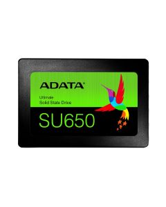 "ADATA Ultimate SU650  480GB SATA III 6Gb/s 3D TLC V-NAND 2.5"" 7mm Solid State Drive - ASU650SS-480GT-R"