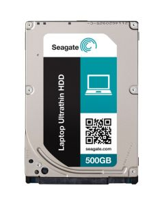 "Seagate Laptop Ultrathin  500GB 5400RPM SATA III 6Gb/s 16MB Cache 2.5"" 5mm Laptop Hard Drive - ST500LT033 (SED)"