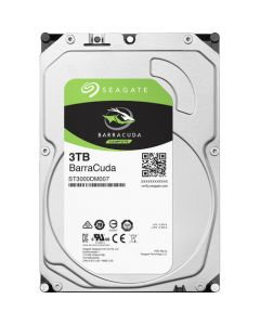 "Seagate BarraCuda  3TB 5400RPM SATA III 6Gb/s 256MB Cache 3.5"" Desktop Hard Drive - ST3000DM007"