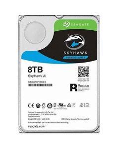 "Seagate SkyHawk AI Surveillance  8TB 7200RPM SATA III 6Gb/s 256MB Cache 3.5"" Desktop Hard Drive - ST8000VE0004"