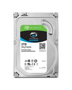 """Seagate SkyHawk Surveillance  2TB Low-Spin SATA III 6Gb/s 64MB Cache 3.5"""" Desktop Hard Drive - ST2000VX008"""