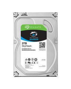 """Seagate SkyHawk Surveillance  3TB Low-Spin SATA III 6Gb/s 64MB Cache 3.5"""" Desktop Hard Drive - ST3000VX010"""
