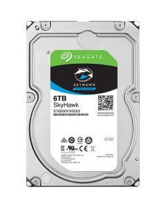 """Seagate SkyHawk Surveillance  6TB Low-Spin SATA III 6Gb/s 256MB Cache 3.5"""" Desktop Hard Drive - ST6000VX0023"""