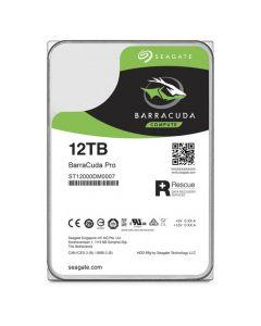 """Seagate BarraCuda Pro  12TB 7200RPM SATA III 6Gb/s 256MB Cache 3.5"""" Desktop Hard Drive - ST12000DM001"""