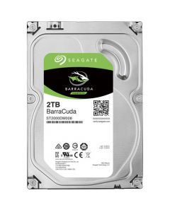 "Seagate BarraCuda  2TB 5400RPM SATA III 6Gb/s 256MB Cache 3.5"" Desktop Hard Drive - ST2000DM005"