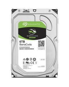 "Seagate BarraCuda  6TB 5400RPM SATA III 6Gb/s 256MB Cache 3.5"" Desktop Hard Drive - ST6000DM003"