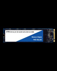 Western Digital Blue 2TB SATA III 6Gb/s 3D TLC NAND M.2 NGFF (2280) Solid State Drive - WDS200T2B0B