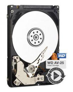 """Western Digital AV-25  250GB 5400RPM SATA II 3Gb/s 16MB Cache 2.5"""" 9.5mm Laptop Hard Drive - WD2500BUCT"""