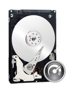 """Western Digital Black  500GB 7200RPM SATA II 3Gb/s 16MB Cache 2.5"""" 9.5mm Laptop Hard Drive - WD5000BPKT"""