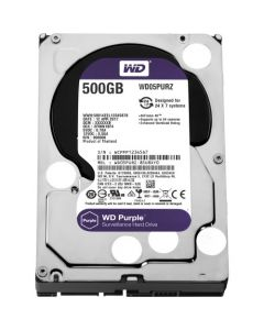 "Western Digital Purple  500GB 5400RPM SATA III 6Gb/s 64MB Cache 3.5"" Desktop Hard Drive - WD05PURZ"