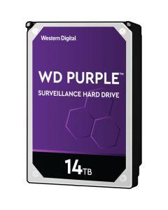 """Western Digital Purple  14TB 7200RPM SATA III 6Gb/s 512MB Cache 3.5"""" Desktop Hard Drive - WD140PURZ"""