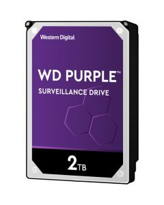 "Western Digital Purple  2TB 5400RPM SATA III 6Gb/s 64MB Cache 3.5"" Desktop Hard Drive - WD20PURZ"