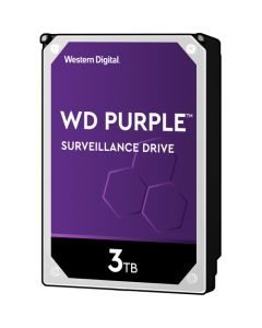"Western Digital Purple  3TB 5400RPM SATA III 6Gb/s 64MB Cache 3.5"" Desktop Hard Drive - WD30PURZ"