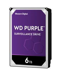 """Western Digital Purple  6TB 5400RPM SATA III 6Gb/s 64MB Cache 3.5"""" Desktop Hard Drive - WD60PURZ"""